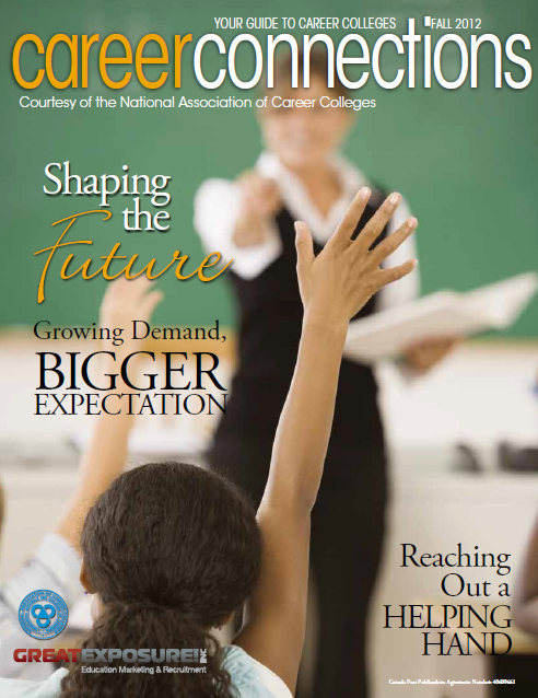 Career Connections Magazine Fall 2012